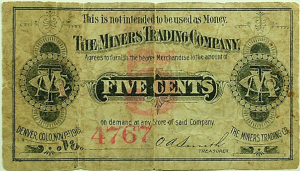 5 cent script